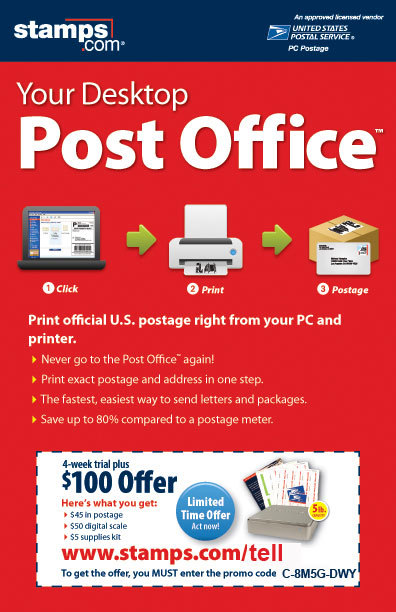 Post office coupon code stamps